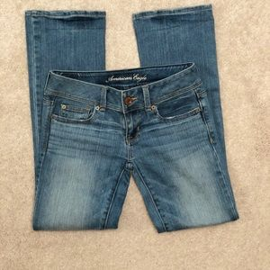 American Eagle slim bootcut jeans